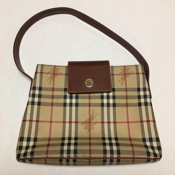 Burberry Bags   Authentic London Logo Bag Purse   Poshmark eee2550e1c